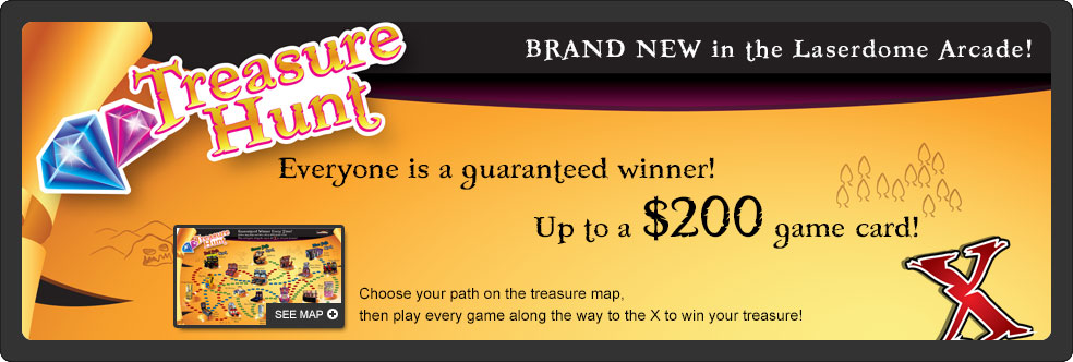 Treasure Hunt - Choose Your Path and Win Prizes - Up to $200 worth!